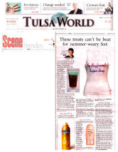 Super Sexy T-Shirts featured in Tulsa World