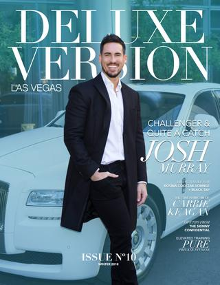 Michael Buble in Deluxe Version Magazine