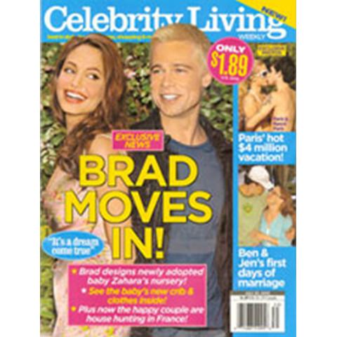 Jamie Kreitman in Celebrity LIving Magazine