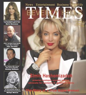 FSM Creative Director Allison Kugel Interviews Maria Menounos in Beverly Hills Times Magazine