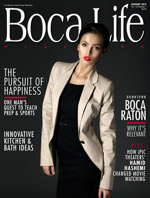 Healthy Food Chef, Lee Cotton in Boca Life Magazine
