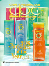 H. Couture Beauty in Cosmetic/Personal Care Packaging Magazine