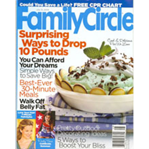 Jamie Kreitman in Family Circle Magazine