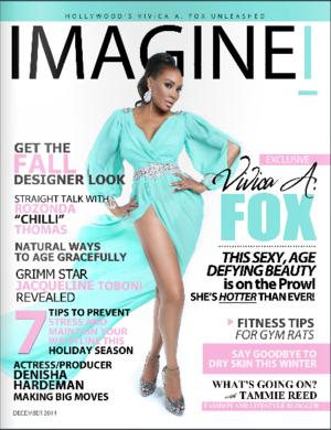 """TLC's Rozonda """"Chilli"""" Thomas Interview in IMAGINEI Magazine"""