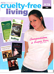 Super Sexy LLC Gets PETA's 2006 Catalog Cover