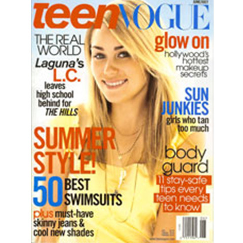 Wendy Young & ErgoPro in Teen Vogue Magazine
