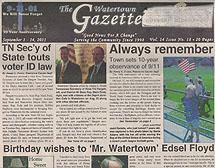 Country Artist Lisa Matassa in The Watertown Gazette
