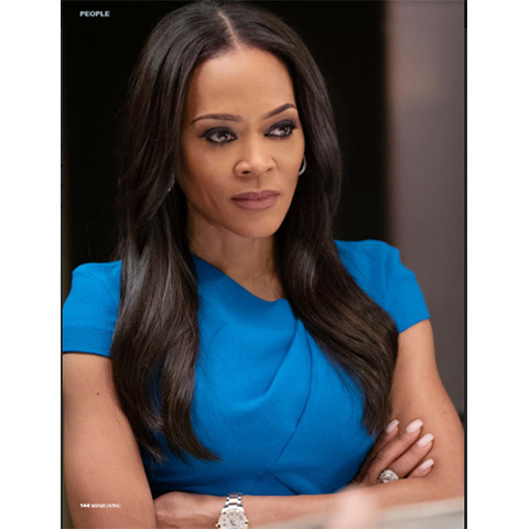Actress Robin Givens in Miami Living Magazine