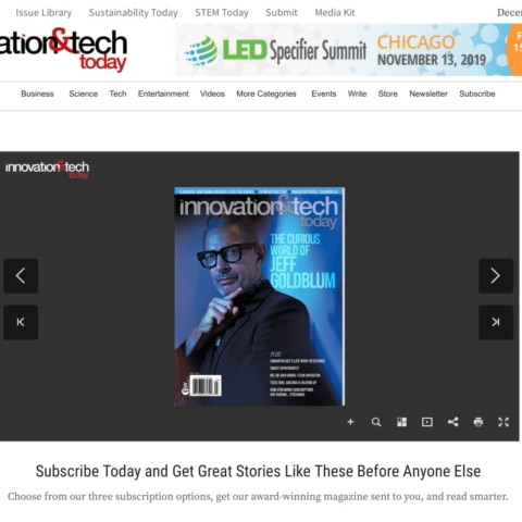 Financial Consultant Solomon Ali in Innovation & Tech Today Magazine