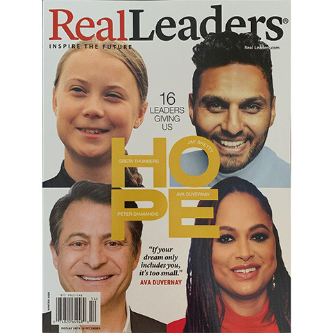 Solomon RC Ali in Real Leaders Magazine