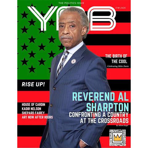 Reverend Al Sharpton Covers YRB Magazine