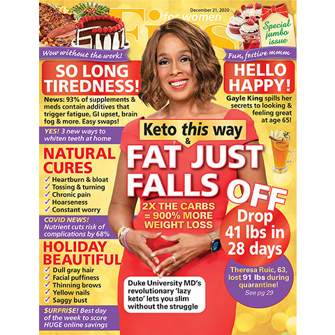 Gayle King Covers FIRST For Women Magazine Feature by Allison Kugel